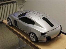 StudentCar SCX - maketa ve zmenšené velikosti