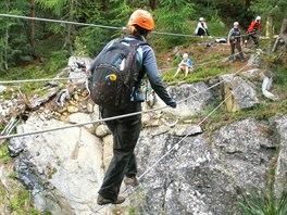 Adrenalin v italsk�m Livignu
