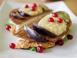 Ve vitariánské restauraci Kiwi Raw Food nabízejí například sladké pohankové...