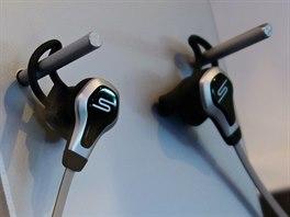 In-earová sluchátka SMS Audio BioSport jsou vybavena pulsmetrem.