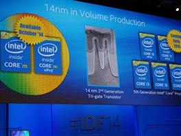 14nm technologicí budou vyráběny i Core i3, i5 a i7, které na trh přijdou v...