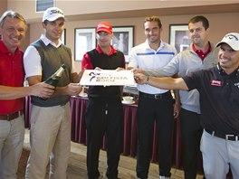 Symbolickým křtem zahájili letošní ročník hlasování v anketě Golfista roku