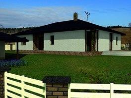 Vizualizace: takto by měl dům vypadat po dostavbě