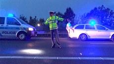 Hromadná nehoda na D11