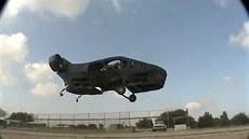 Zkou�ka vzná�ení stroje AirMule