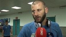 David Bi�ík hodnotí zápas Sparta - Neapol.