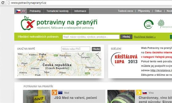 Potravinynapranýři.cz