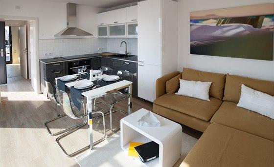 Freedomek na For Archu byl vybaven především nábytkem IKEA.