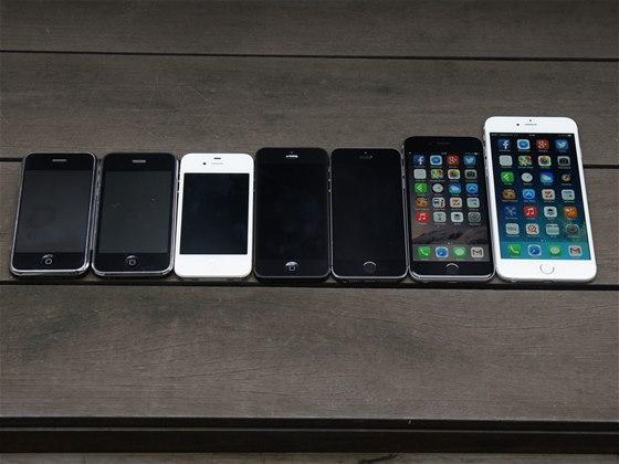 iPhone 6, iPhone 6 Plus a jejich starší sourozenci