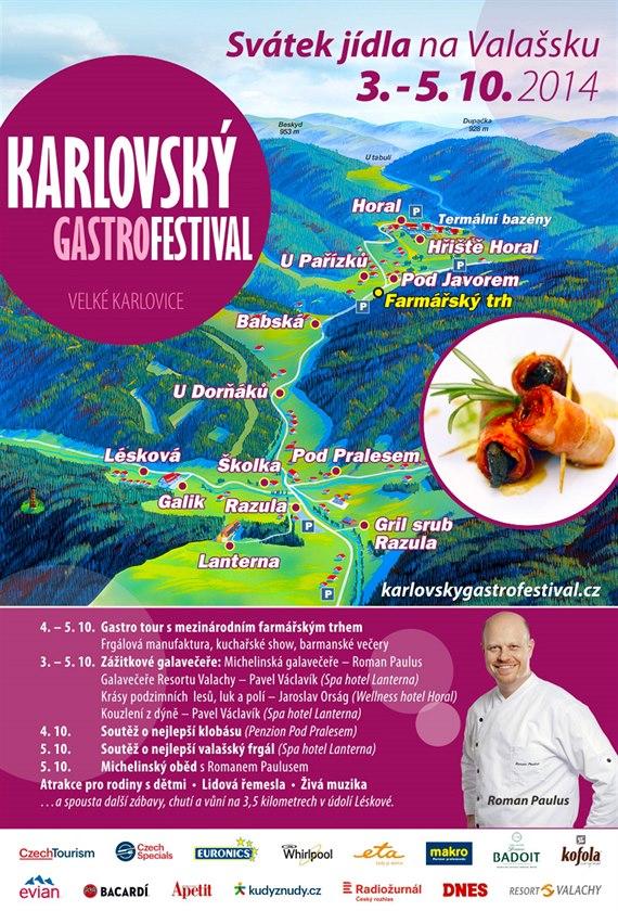 Navštivte Karlovský gastrofestival – svátek jídla na Valašsku