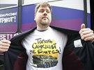 Topol se sankcí nebojí. Vlastenecké triko, které obyvatelé Moskvy mohou získat...