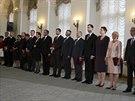 Nová polská vláda Ewy Kopaczové složila v Prezidentském paláci ve Varšavě...