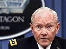 Gener�l Martin Dempsey hovo�� v Pentagonu o situaci v S�rii a Ir�ku (26. z���...