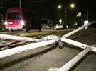 Řidička pod vlivem drog ujížděla v kradeném autě, na Podolském nábřeží narazila...