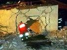 Mladík dostal smyk a narazil do rodinného domu. Poškodil zeď, garáž a v něm...