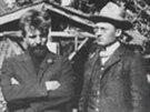 Otto Gross a Carl Jung. Grossův pobyt trval asi čtyři týdny. Podle mnohých...
