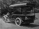 Thomas Coleman du Ponte využíval obytný vůz hlavně při svých služebních cestách.
