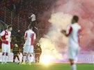 MLHA. Derby se odehrálo v bouřlivé atmosféře.