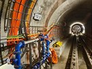 Nová část linky A pražského metra je krátce před dokončením, kompletně hotova...