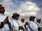 Blahořečení katolického kněze Álvaro del Portilla, který zemřel v roce 1994 a...