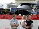 Lékaři zasahují po tragické nehodě při přehlídce monster trucků v Nizozemském...