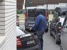 Policisté prohledali i vilu, kterou využívá lobbista Ivo Rittig. (26. 9. 2014)