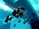Nejhlubší bazén světa v italském Montegrotto Terme má hloubku 40 metrů.