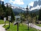 Přírodní park Puez-Geisler / Puez-Odle