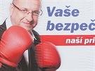 Billboard Radomíra Michniaka z ODS.