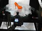 Sestava PhotoRobota s robotickou rukou.