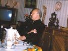 Oleg Ivanovskij ve svém bytě