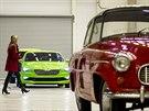 B�hem oslav 80. výro�í automobilky �koda Auto v Kvasinách mohli náv�t�vníci...