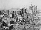 Otřesy a následný požár zabily v dubnu 1906 tři tisíce lidí.
