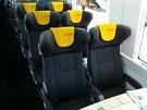 Kožená sedadla Grammer v novém vagónu, který pro RegioJet vyrobila rumunská...
