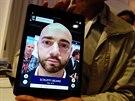 Na tabletu si také můžete virtuálně vyzkoušet, jak byste vypadali s různě...