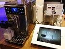 Aplikace vám pomůže i s přípravou kávy. Můžete si uložit své vlastní předvolby...