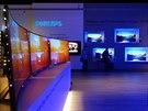 Prohnutý televizor má i Philips, na rozdíl od Samsungu a LG mu nepřisuzuje...