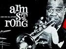 Titulní strana programu koncertu Louise Armstronga v roce 1965 v Praze