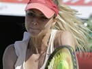 ÚSILÍ. Maria Kirilenková v semifinále turnaje v Soulu.