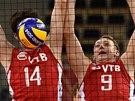 Ruští volejbalisté na mistrovství světa.