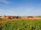 Archeologické naleziště u Hradce z dálky
