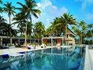 Korálový ostrov Velaa nabízí host�m hotelového resortu 48 soukromých vil s...