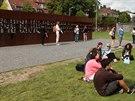 Památník v ulici Bernauer je nejpietnější částí Berlínské zdi