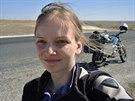 Jízda proti větru v Kazachstánu