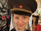 Tak prý začínám vypadat tak nějak dost rusky... Zastavila jsem se v muzeu...