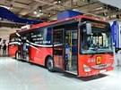 Nový autobus Iveco Crossway LE, který vysokomýtský výrobce dodá Deutsche Bahn.