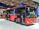 Nov� autobus Iveco Crossway LE, kter� vysokom�tsk� v�robce dod� Deutsche Bahn.