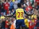 Gólová oslava Dannyho Welbecka z Arsenalu
