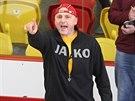 Kouč jihlavských hokejistů Petr Vlk