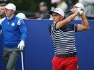 Americký golfista Rickie Fowler na Ryder Cupu